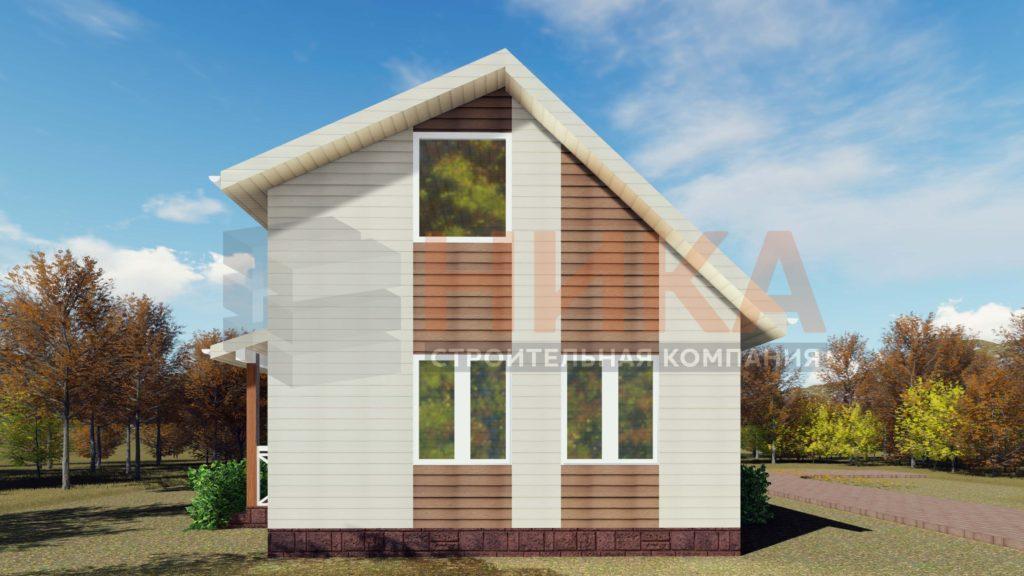 Визуализация проекта дома Универсал 99м2