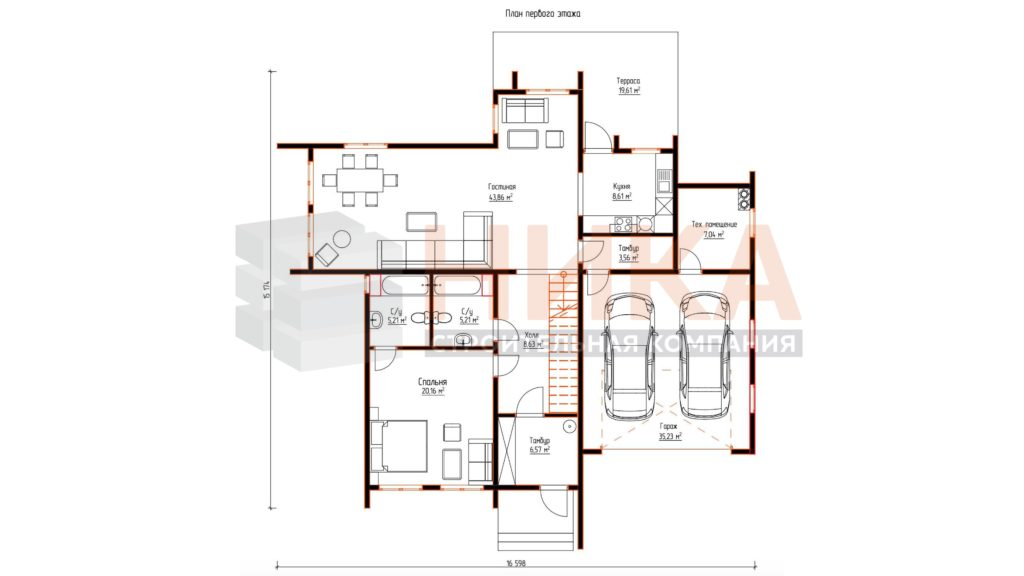 Проект дома Аспер